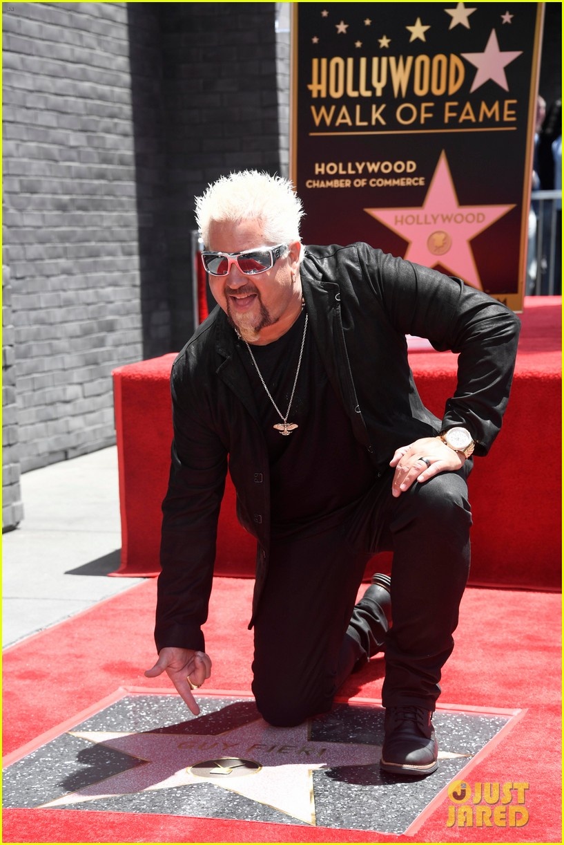 matthew mcconaughey helps present guy fieri with star on hollywood walk of fame 12