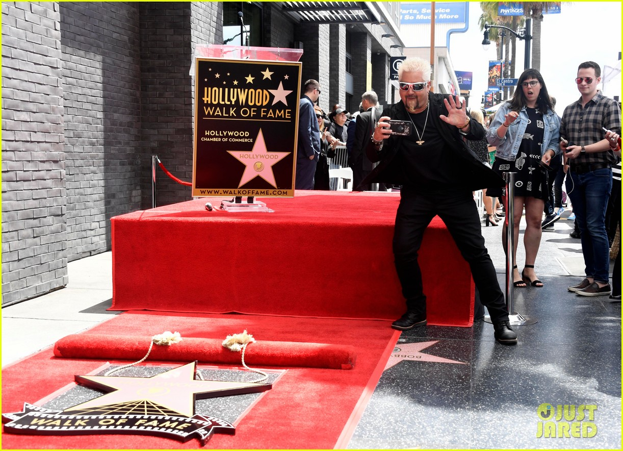 matthew mcconaughey helps present guy fieri with star on hollywood walk of fame 19