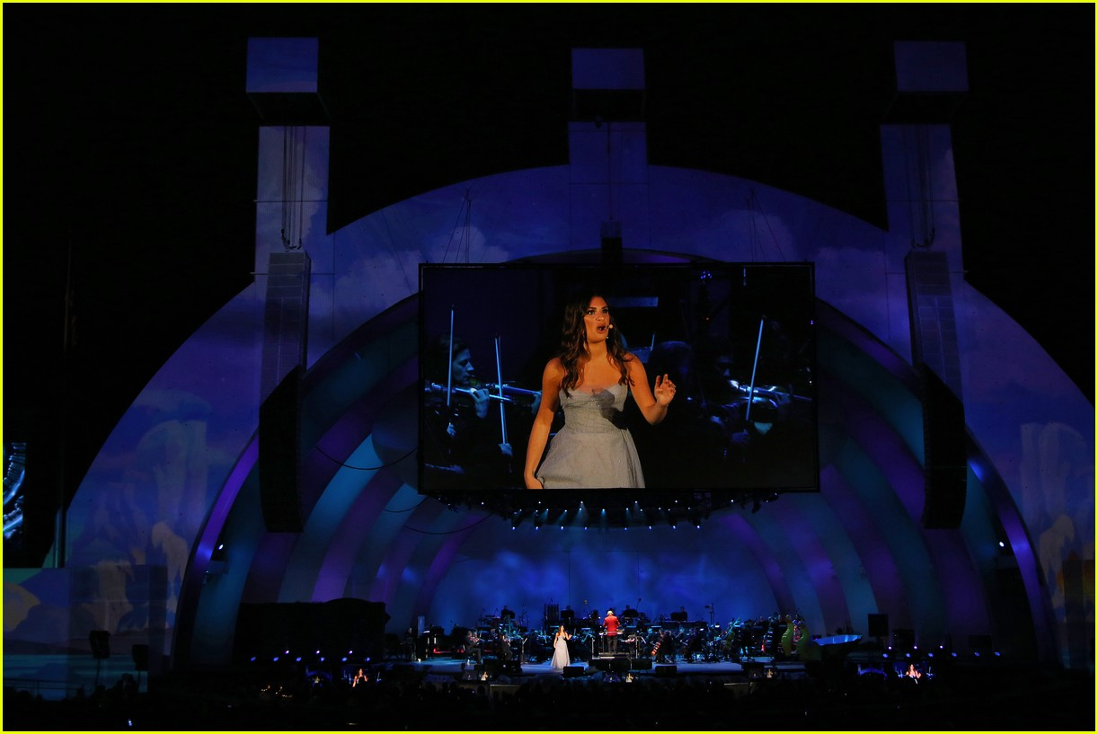 lea michele performs in little mermaid 154295456
