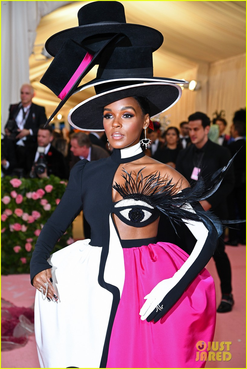 Janelle Monae Is The Mad Hatter At The Met Gala 2019