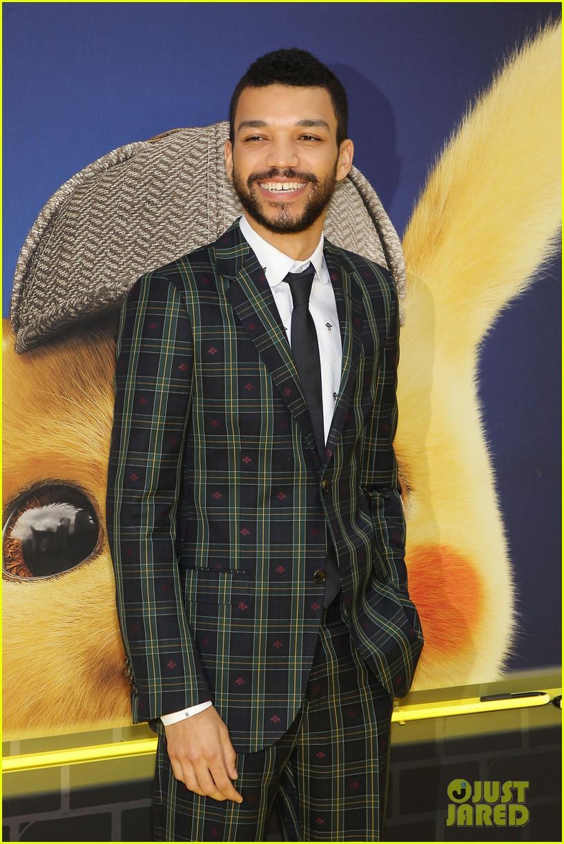 kathryn newton justice smith yellow carpet detective pikachu premiere 11