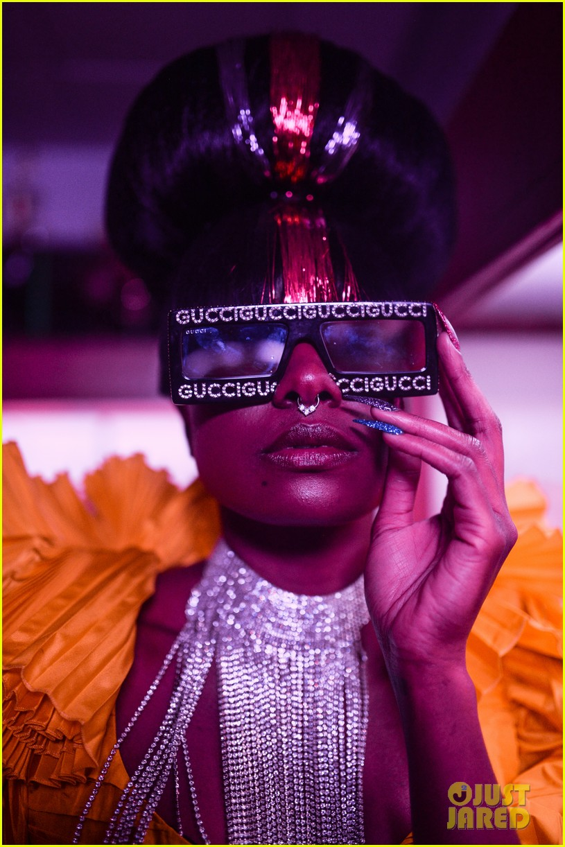 lupita nyongo rachel brosnahan live it up at guccis met gala 2019 after party 09