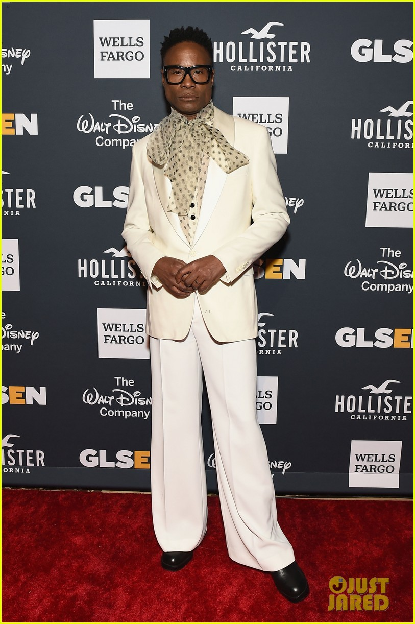 billy porter and pose cast win champion award at glsen respect awards 2019 014295516
