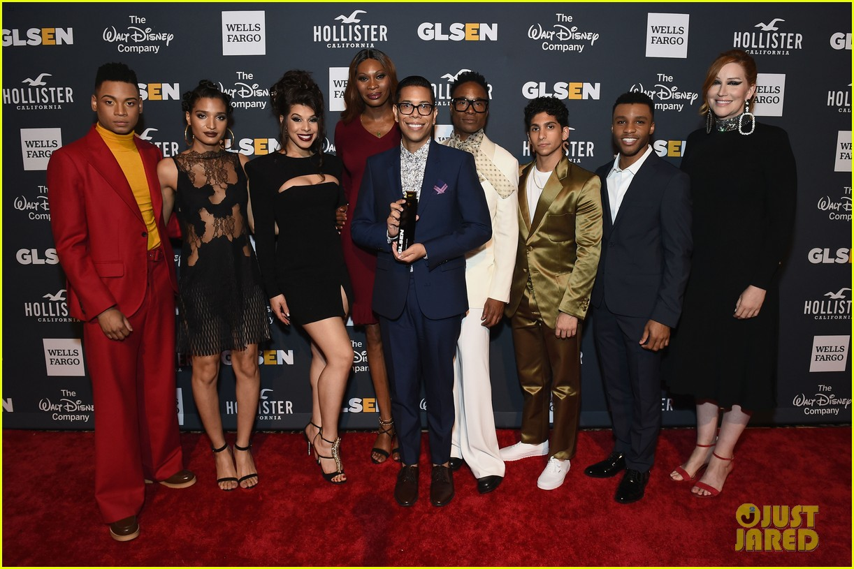 billy porter and pose cast win champion award at glsen respect awards 2019 054295520