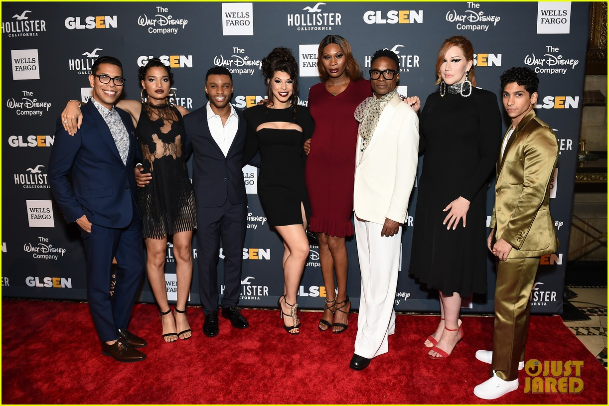 billy porter and pose cast win champion award at glsen respect awards 2019 124295527