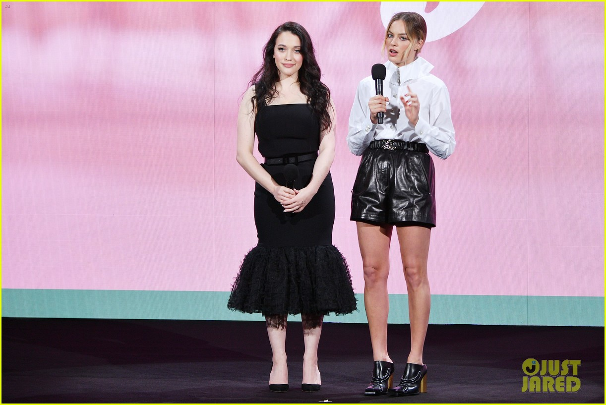 margot robbie and kat dennings talk dollface at hulu upfronts 094280426