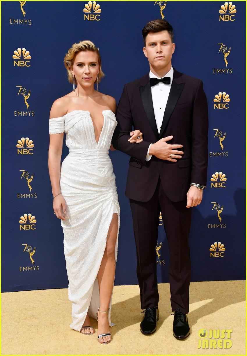 Scarlett Johansson Amp Colin Jost Are Engaged Photo