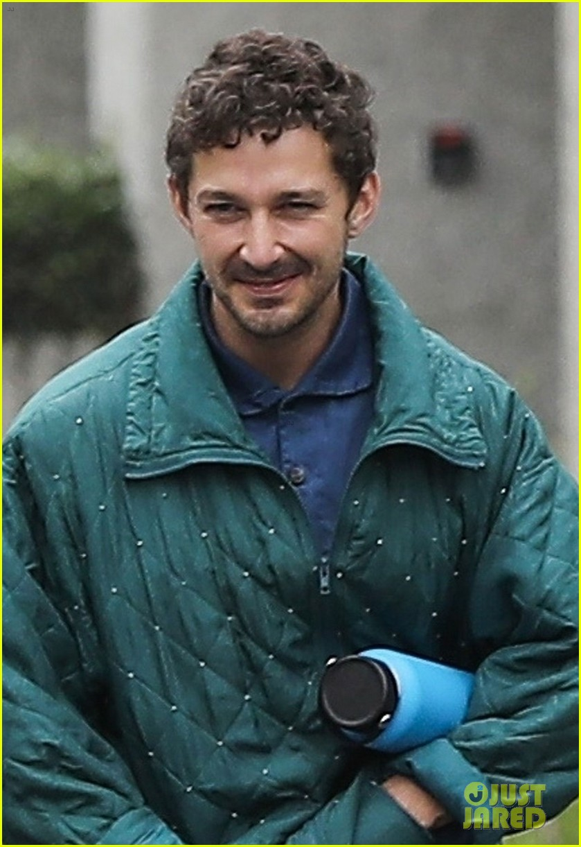 shia labeouf attends kanye wests sunday service with gal pal 044299047