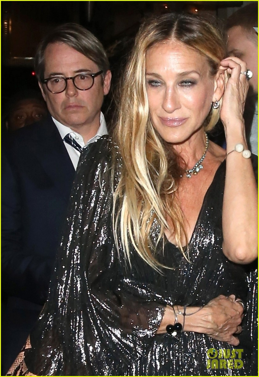 sarah jessica parker supports matthew broderick the starry night opening night 02