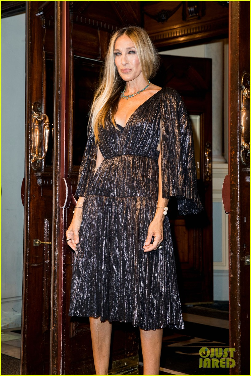sarah jessica parker supports matthew broderick the starry night opening night 10