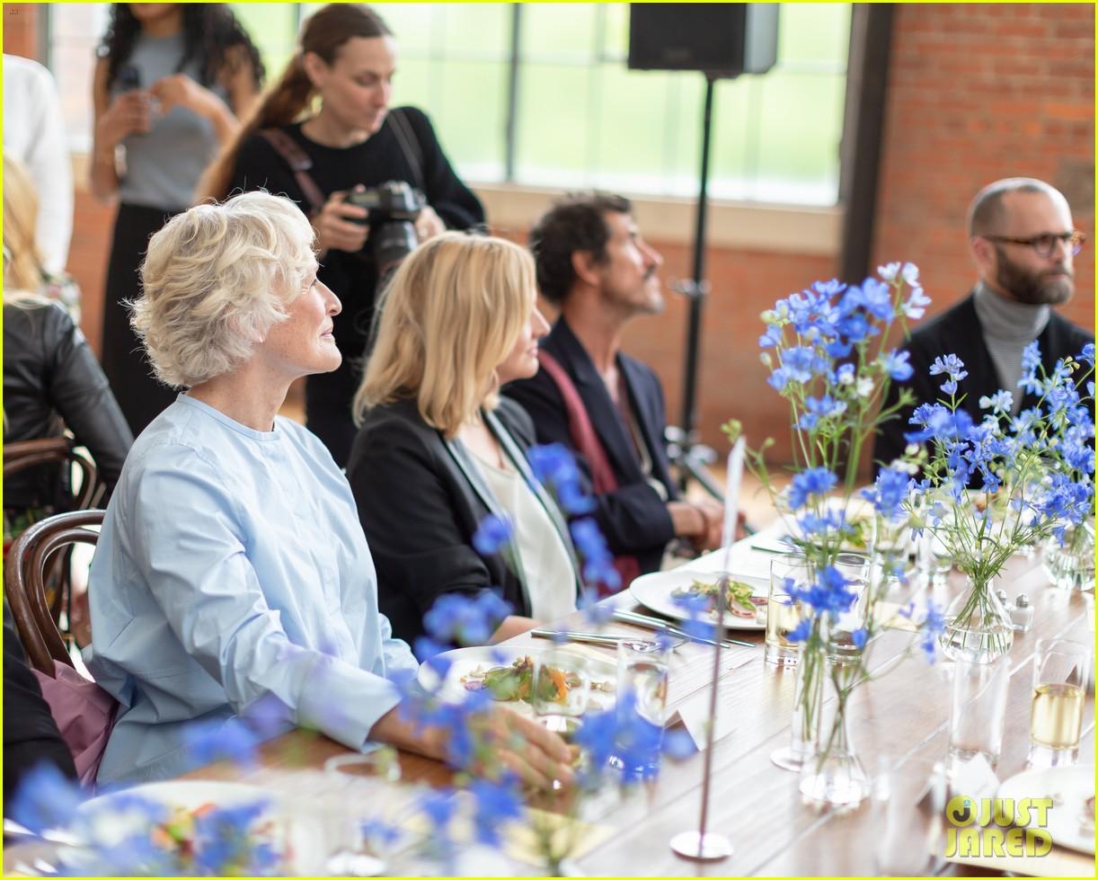 alexander skarsgard glenn close gemma chan support dia art foundations spring benefit 19