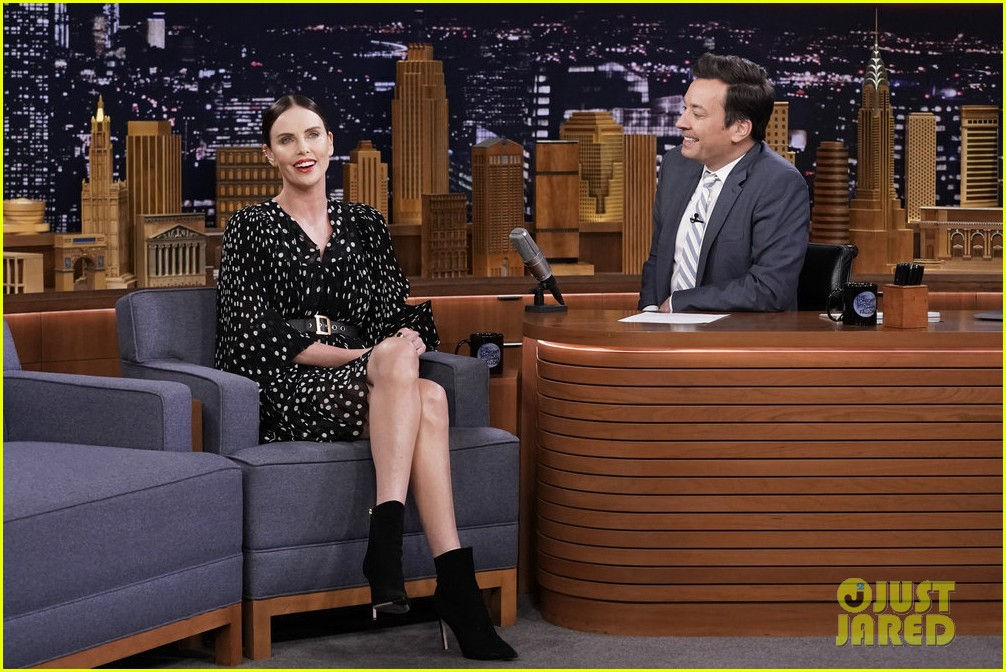 charlize theron tonight show 03