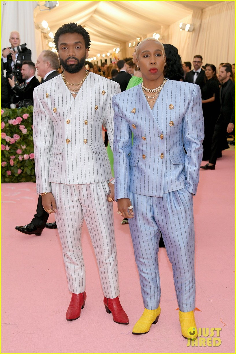 lena waithe message on back of suit met gala 01