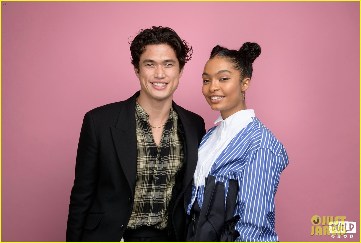 yara shahidi charles melton sun fan screening nyc 05