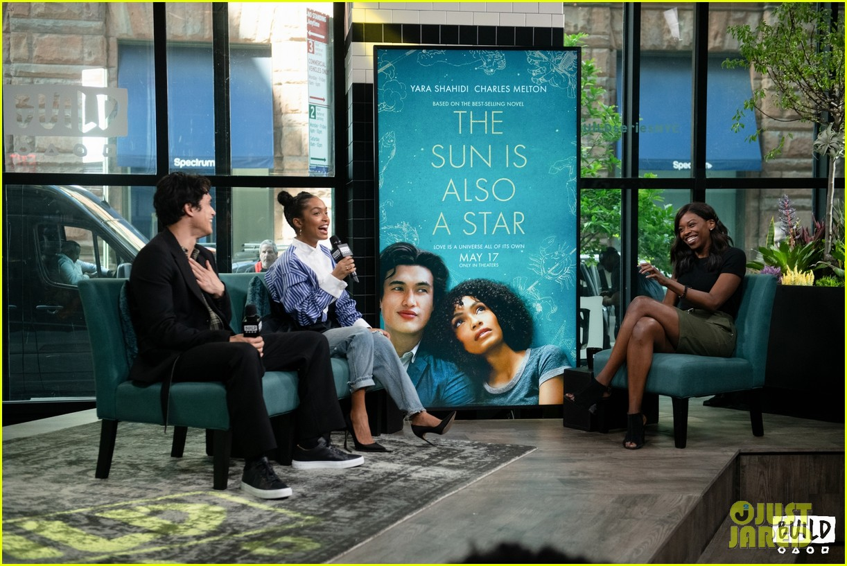 yara shahidi charles melton sun fan screening nyc 06