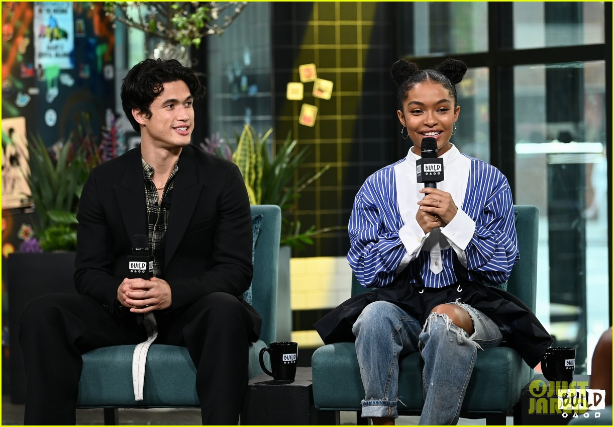 yara shahidi charles melton sun fan screening nyc 08