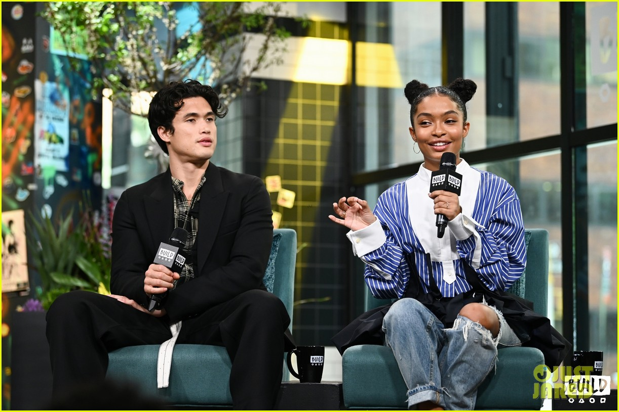 yara shahidi charles melton sun fan screening nyc 10