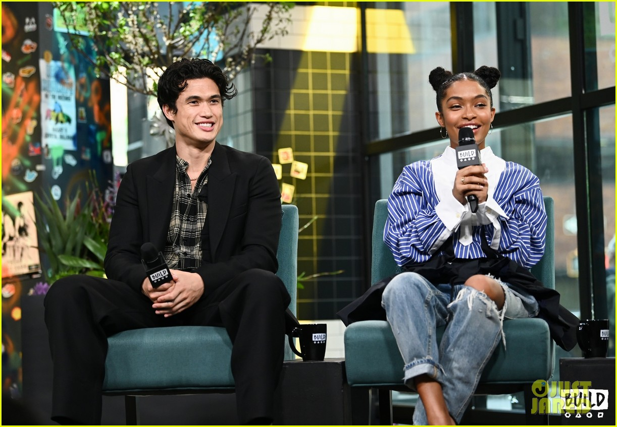 yara shahidi charles melton sun fan screening nyc 12