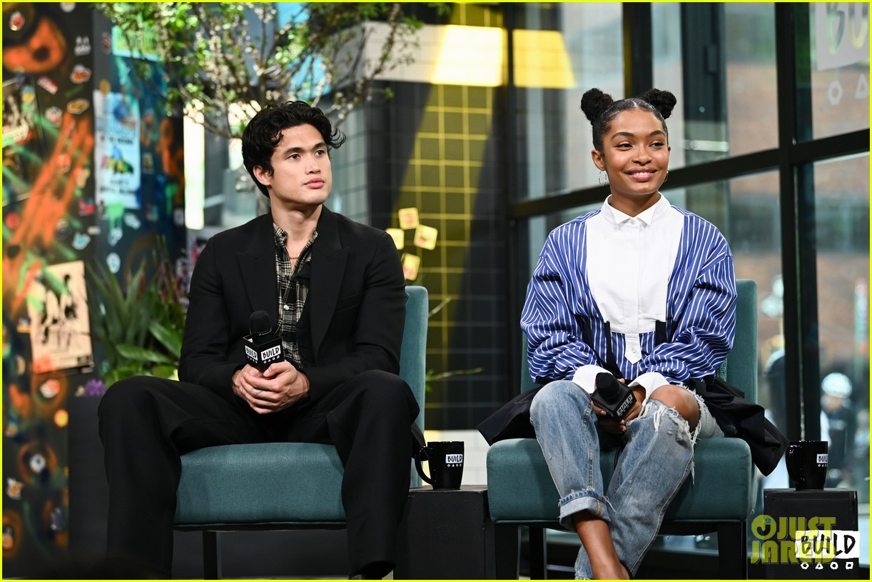 yara shahidi charles melton sun fan screening nyc 13