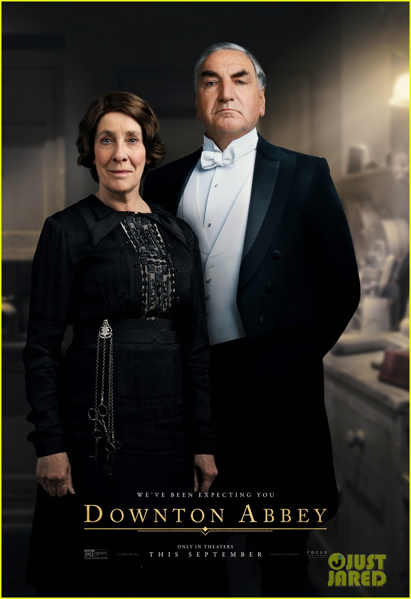 downton abbey movie official character posters revealed 074311032