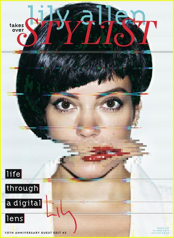 lily allen stylist magazine 114308374