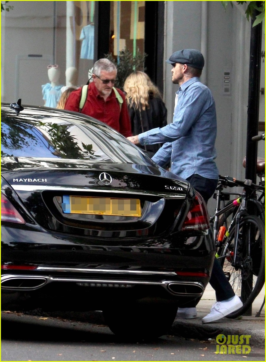 david beckham does some boutique shopping in london 05