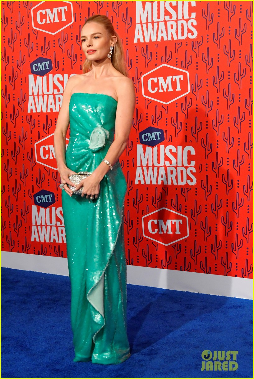 kate bosworth gives off mermaid vibes at cmt music awards 2019 124304060