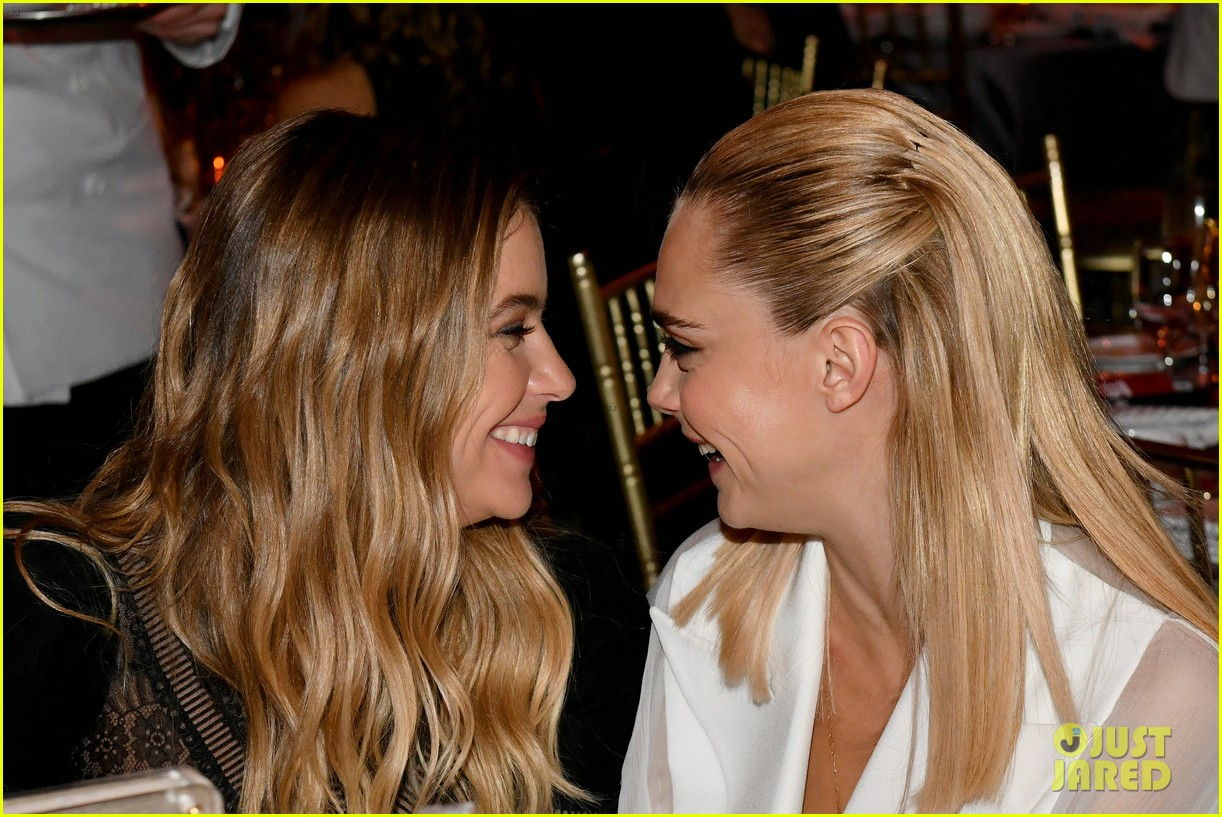 cara delevingne ashley benson trevor gala 264311369