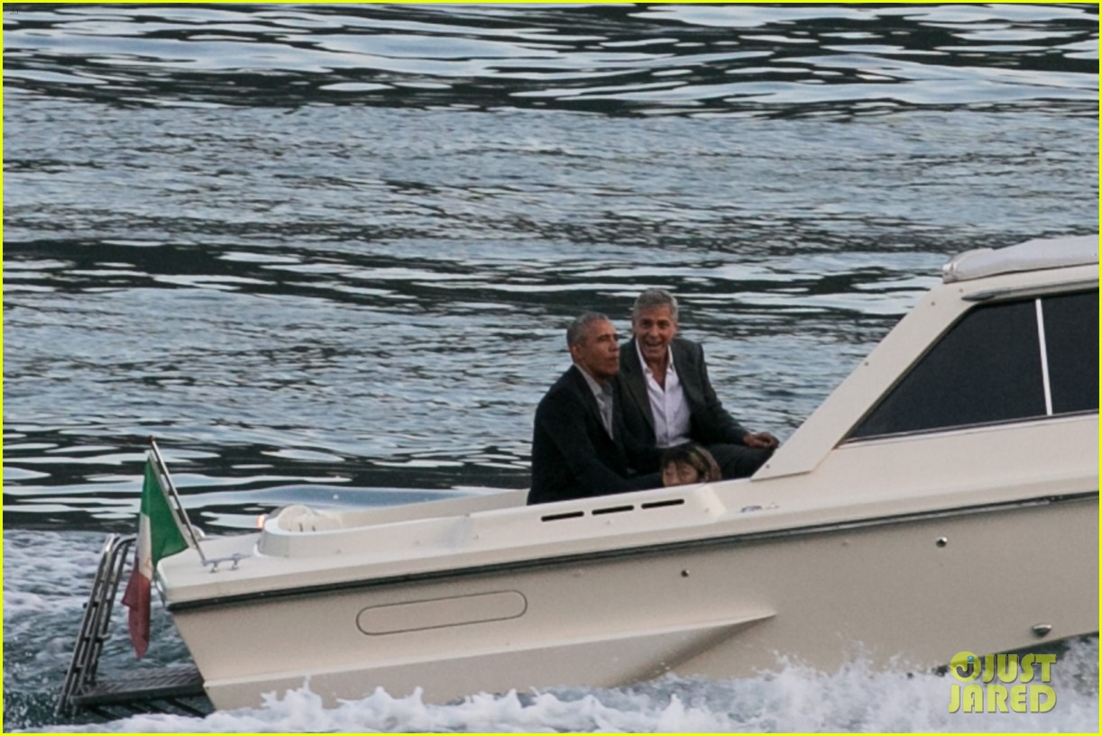george clooney barack obama lake como 10