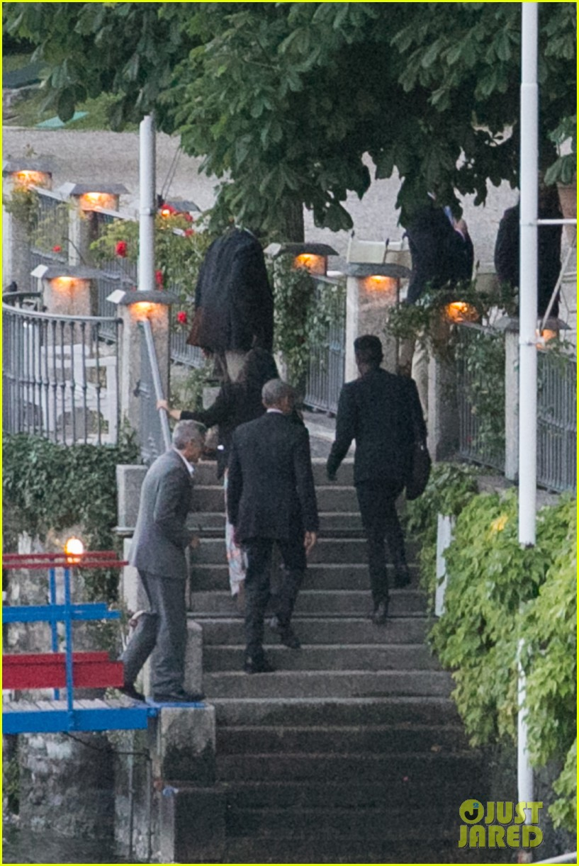 george clooney barack obama lake como 11