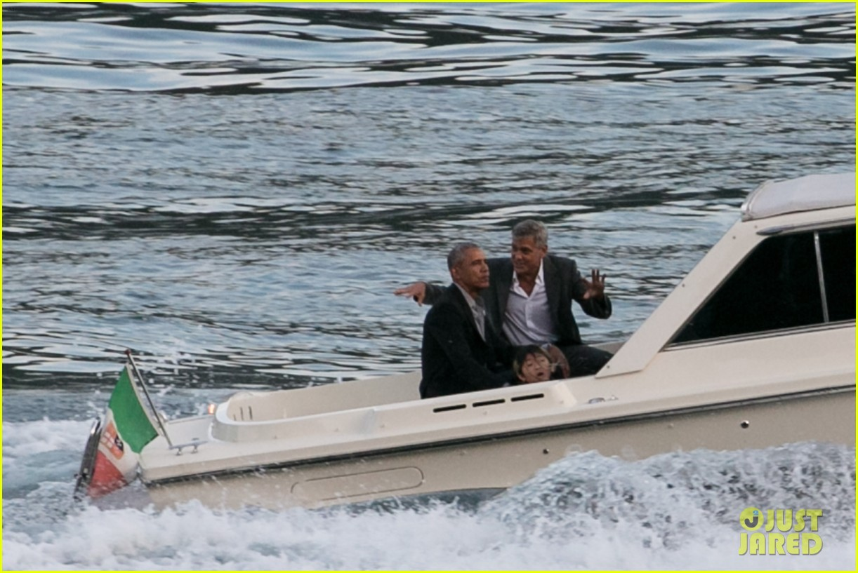 george clooney barack obama lake como 12