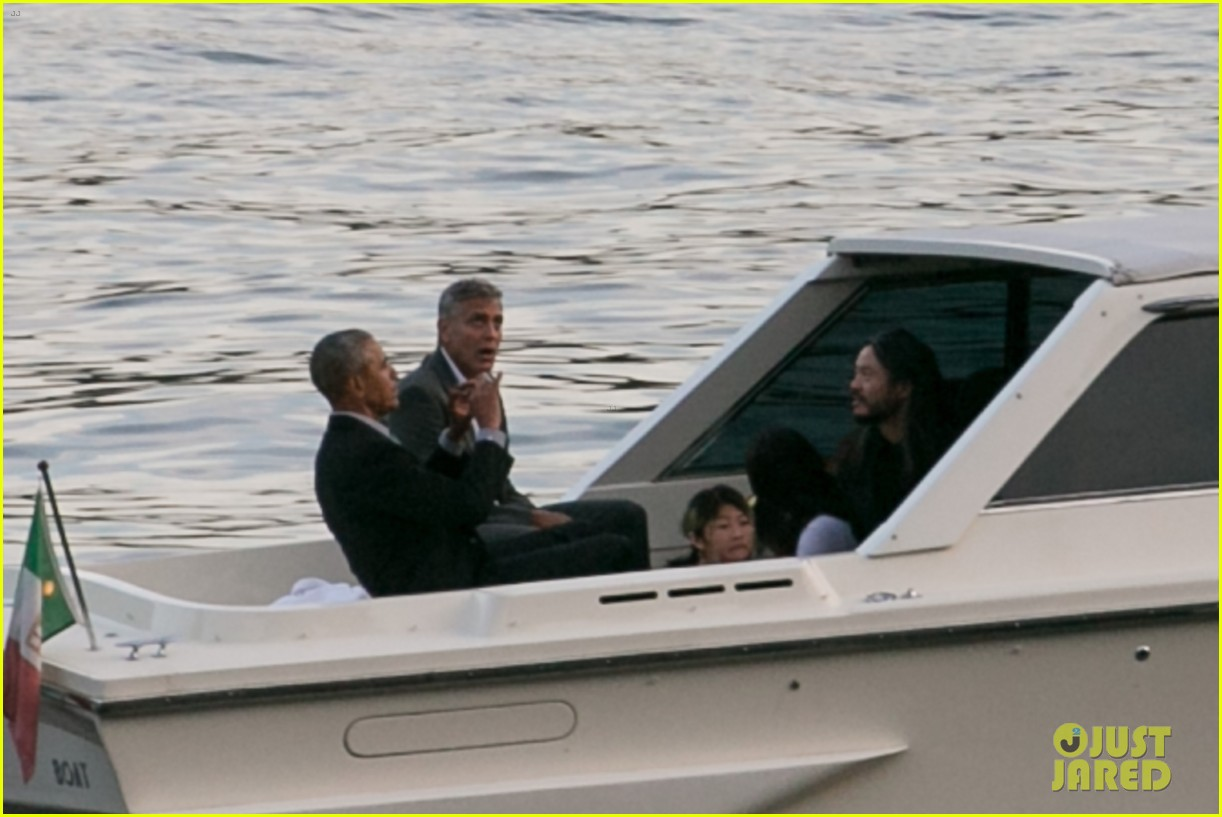 george clooney barack obama lake como 14