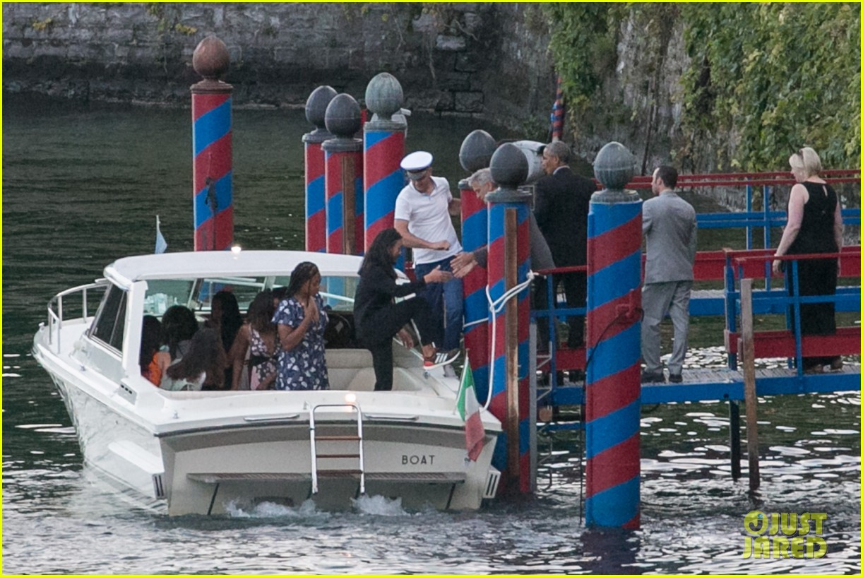 george clooney barack obama lake como 15