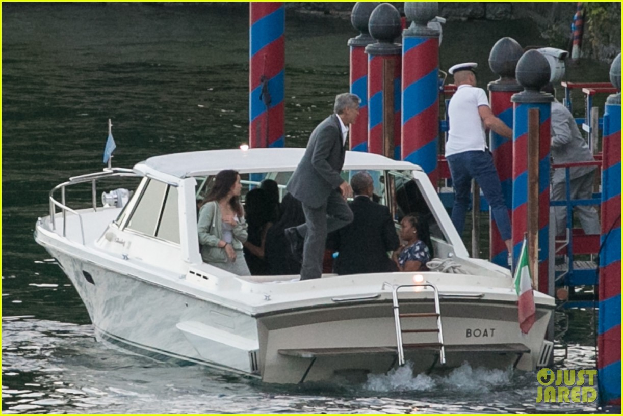 george clooney barack obama lake como 17