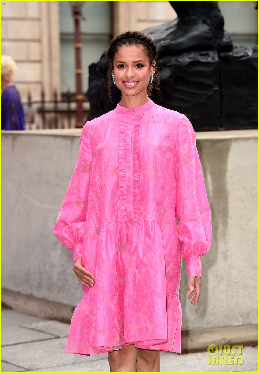 luke evans gugu mbatha raw more step out for royal academy of arts summer exhibition party 024303645