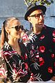 jeff goldblum wife emilie wearing matching outfits on date night 02