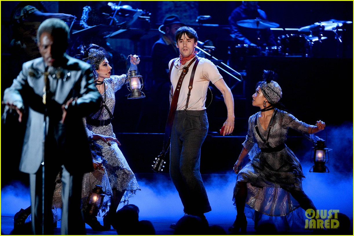 Reeve Carney Performs 'Hadestown' Song 'Wait for Me' at Tony