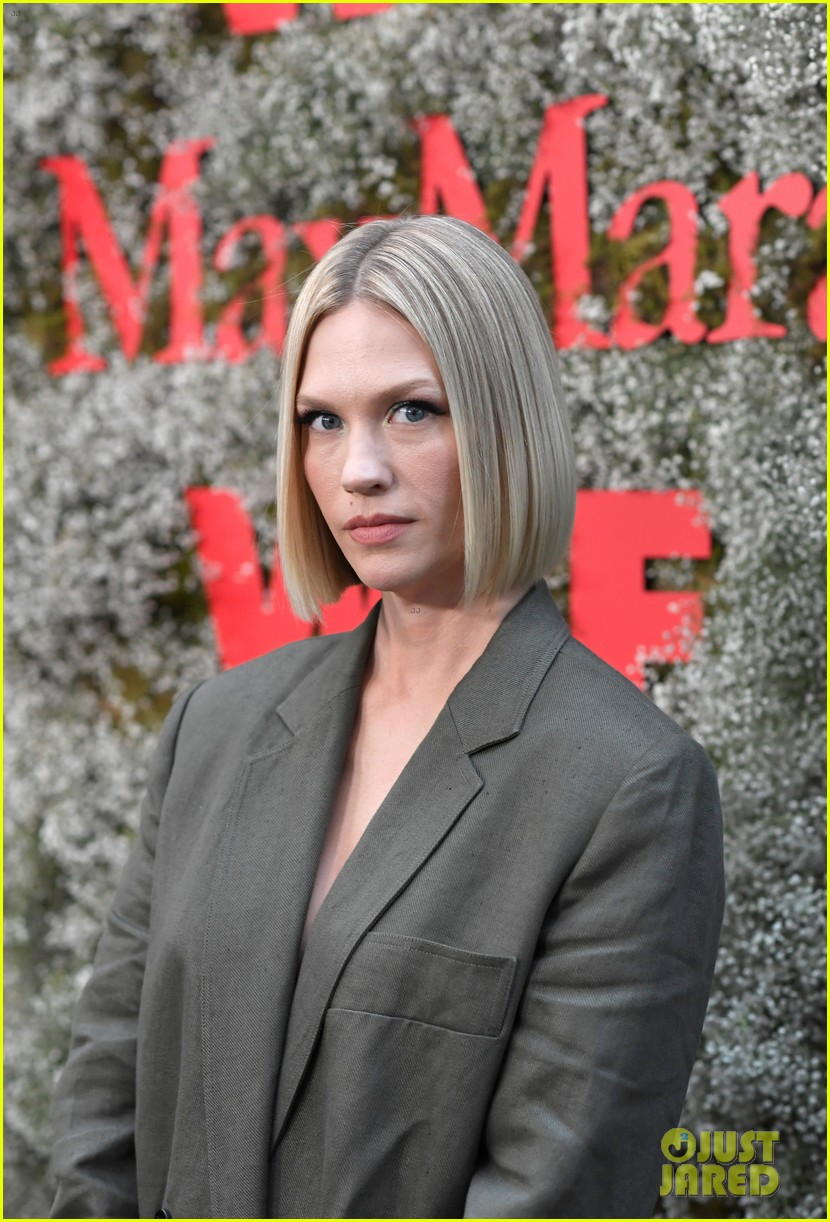 january jones blunt bob max mara face of the future 254308304