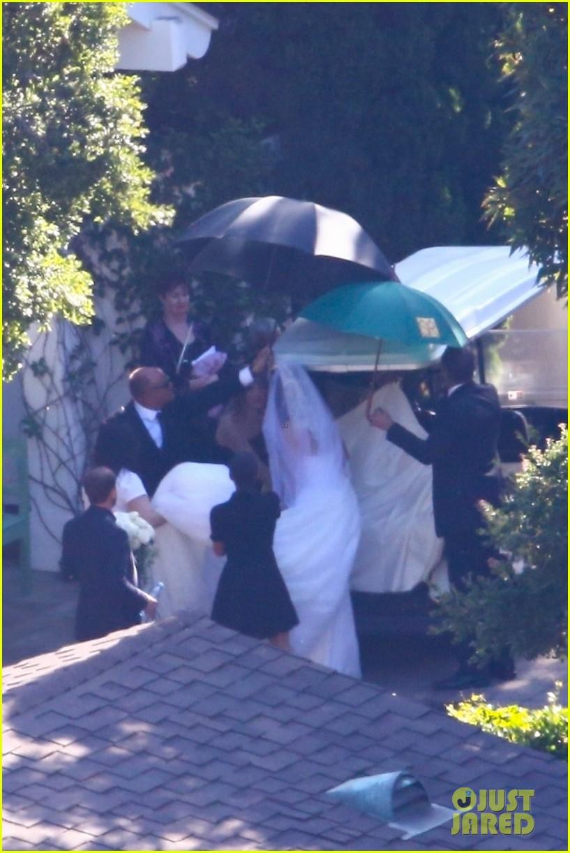 katherine schwarzenegger wedding dress chris pratt 16
