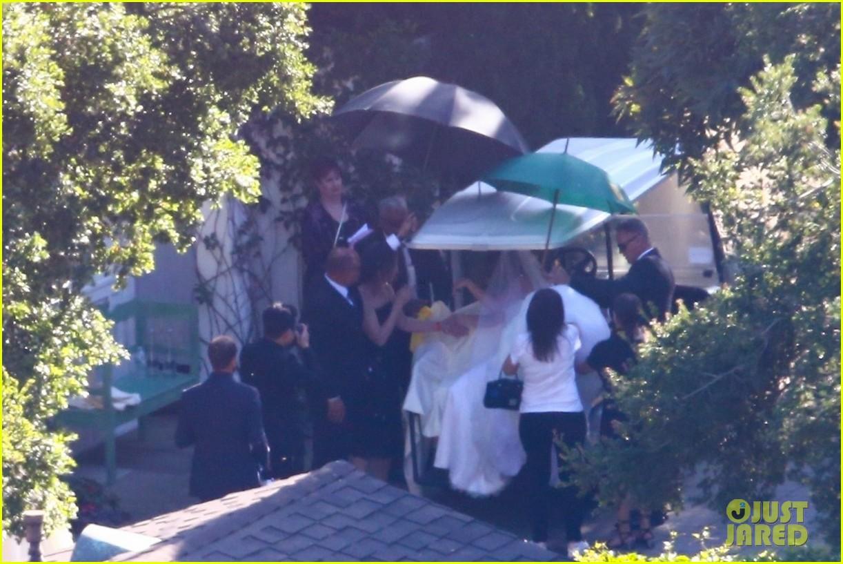 katherine schwarzenegger wedding dress chris pratt 17