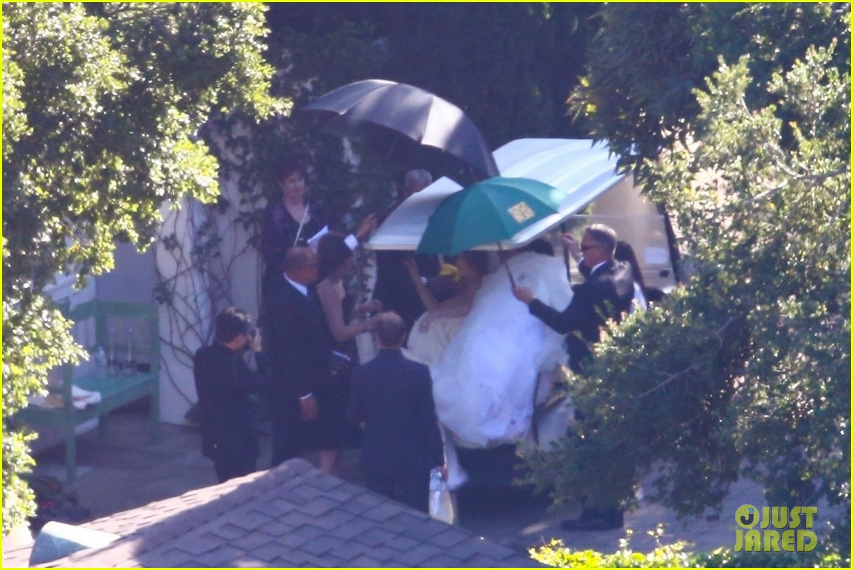 katherine schwarzenegger wedding dress chris pratt 22