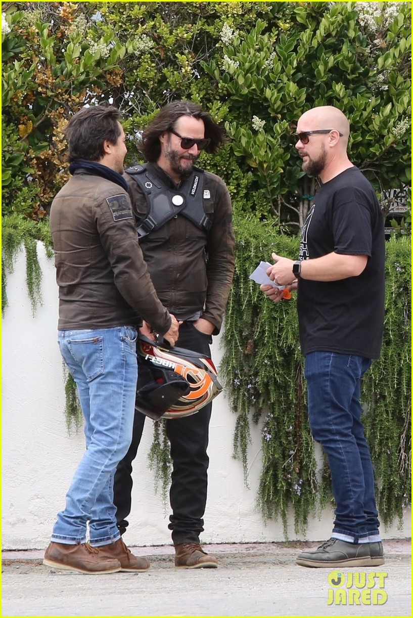 keanu reeves runs into eric dane 404308895