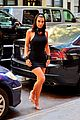 kim kardashian curves in form fitting dress 13