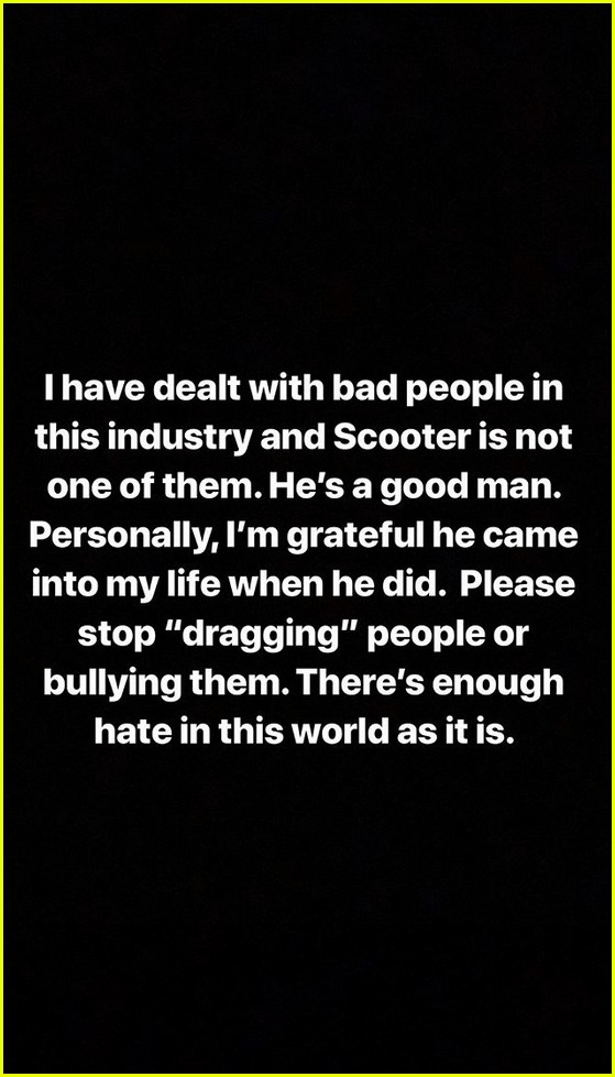 demi lovato supports scooter braun 014316829