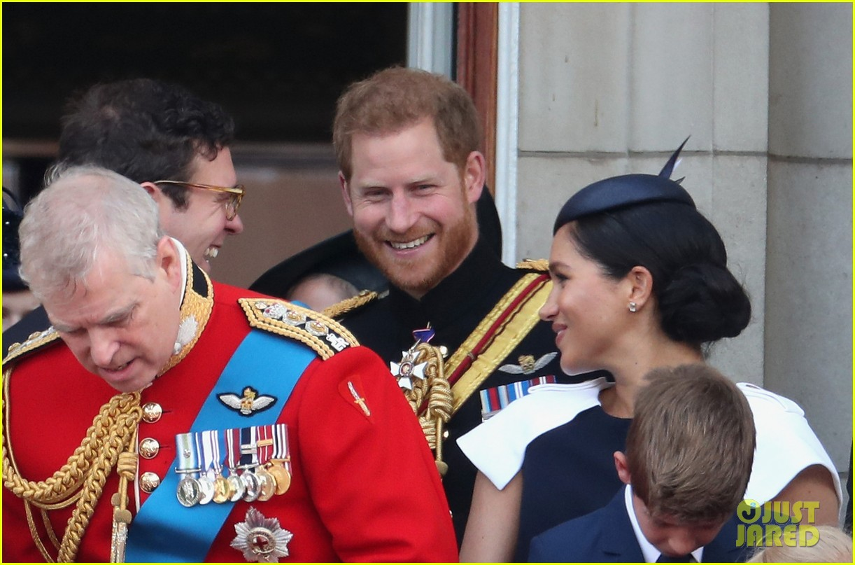 Meghan Markle Makes Post-Baby Appearance at Trooping the