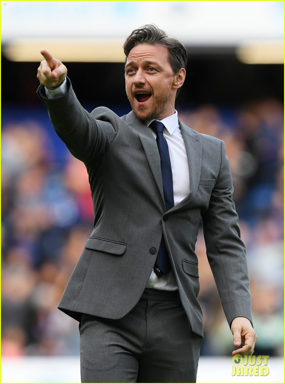 james mcavoy hits the field soccer aid for unicef game 014310856