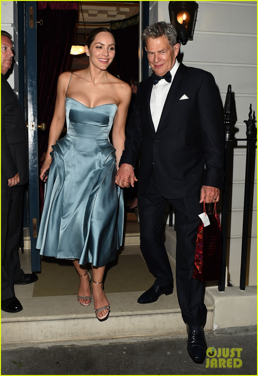 katharine mcphee changes into blue dress after wedding david foster 014315822