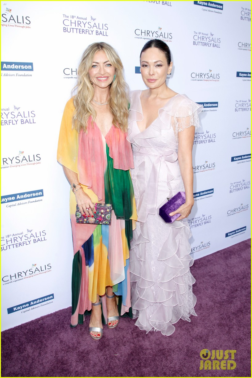 jennifer morrison zoey deutch more step out to support chrysalis butterfly ball 034302334