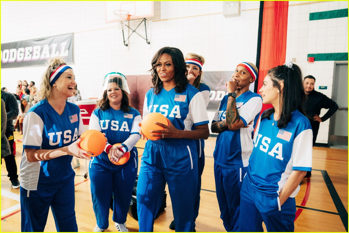 michelle obama dodgeball corden june 2019 014311495