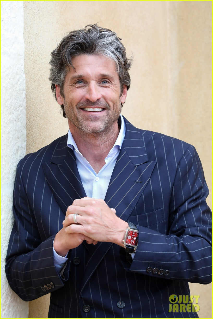 Patrick Dempsey Heads To France For Tag Heuer Event Photo 4310607